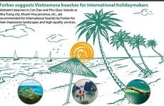 Forbes suggests Vietnamese beaches for international holidaymakers