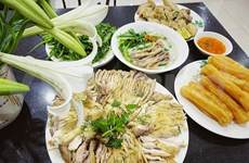 Recipe for yummy bowls of chicken pho
