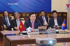 ASEAN, US Foreign Ministers convene on COVID-19
