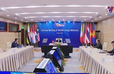 ASEAN Foreign Ministers' Informal Meeting held virtually