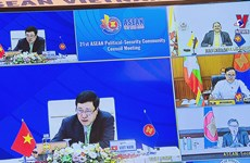 ASEAN strives for regional peace, security, stability