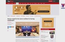 Lao, Malaysian media spotlight ASEAN Summit