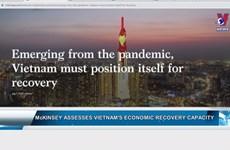 Mckinsey assesses Vietnam's economic recovery capacity