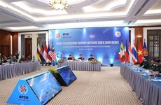 ASEAN peacekeeping centres network video conference