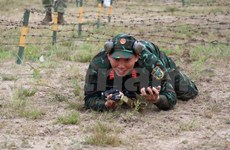 Vietnamese snipers perform well in Army Games 2020