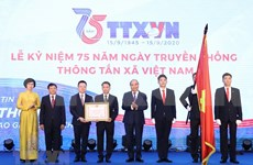 Prime Minister attends ceremony marking 75th founding day of Vietnam News Agency