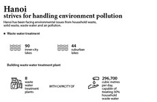 Hanoi strives for handling environment pollution