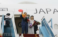 Japanese Prime Minister concludes visit to Vietnam