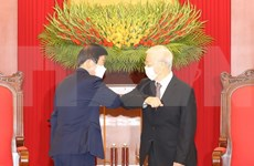Party, State leader meets top RoK legislator