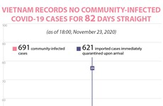 Vietnam records no community-infected COVID-19 cases for 82 days straight