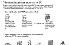 Vietnam increases exports to EU