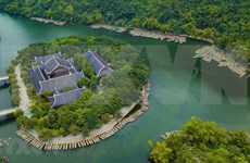 Beauty of Trang An Scenic Landscape complex