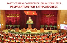 Preparation for 13th Party Congress completed