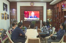 Vietnamese in Laos expect positive outcomes from National Party Congress