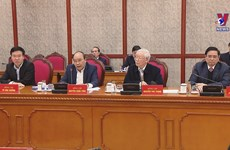 First session of Party Central Committee's Politburo, Secretariat