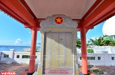 Vinh Phuc pagoda solemn in East Sea