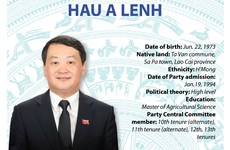 Minister-Chairman of Committee for Ethnic Minorities Affairs Hau A Lenh