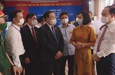 Legislative leader inspects election works
