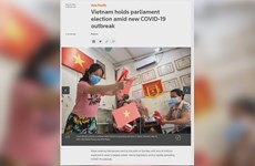 Vietnam's elections attract int'l media coverage