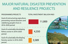 Major natural disaster prevention and resilience projects