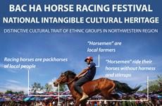 Bac Ha horse racing festival: National Intangible cultural heritage