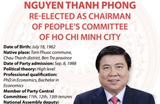 Nguyen Thanh Phong re-elected as Chairman of HCM City People's Committee