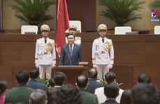 Vuong Dinh Hue re-elected as Vietnam's legislative leader