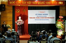 Ha Noi Moi Newspaper launches writing contest on Thang Long-Hanoi