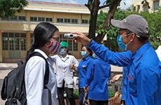 Joint efforts made to ensure safe high-school graduation exam amidst COVID-19  