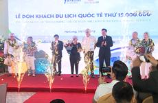 Quang Ninh hosts 15 millionth foreign tourist to Vietnam