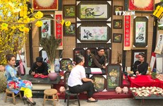 Calligraphy Street in Ho Chi Minh City wows locals and visitors