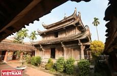 Unique national treasure in Giam pagoda
