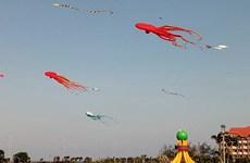 Kite flying festival colours up Tuy Hoa sky