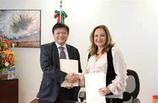 Vietnam, Mexico boost press cooperation