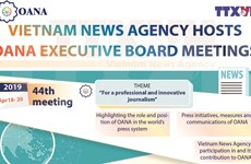 Vietnam News Agency hosts OANA Executive Board meetings
