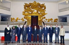 PM meets head delegates to OANA Executive Board Meeting