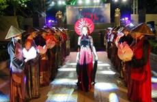 Ao Dai performance as part of Nha Trang Sea Festival