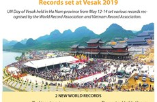 Records set at Vesak 2019