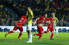 Vietnam grab last-gasp win over Thailand
