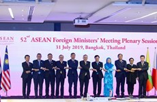 ASEAN Foreign Ministers' Meeting opens in Bangkok