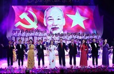Special art programme commemorates President Ho Chi Minh