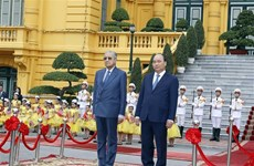PM welcomes Malaysian counterpart