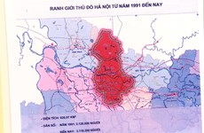 Exhibition gives insight into changes in Hanoi's boundary