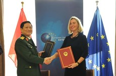 Vietnam, EU sign Framework Participation Agreement