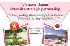 Vietnam- Japan extensive strategic partnership