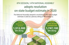 National Assembly adopts resolution on state budge estimate in 2020