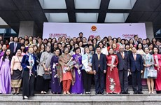 Female diplomats meet ahead of Int'l Women's Day