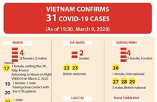 Vietnam confirms 31 COVID-19 cases