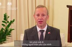 Ambassador thanks Vietnam for supporting British visitors