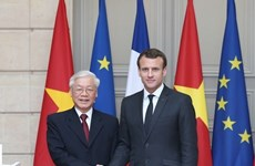 Visits promote Vietnam- France relations